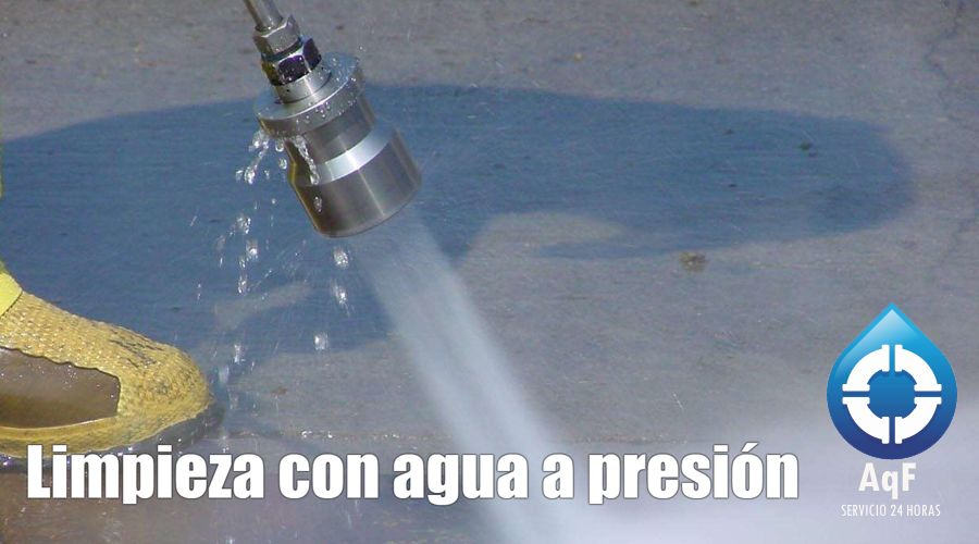 Desatascos agua presión Oliva