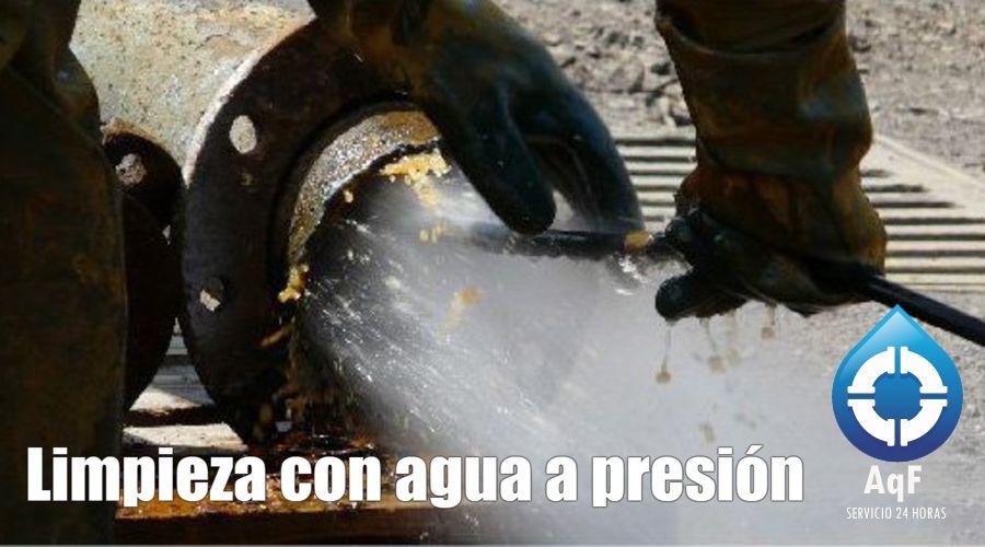 Desatascos agua presión Manises