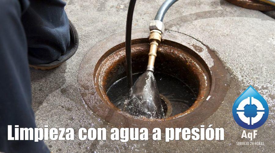 Desatascos agua presión la Pobla de Vallbona