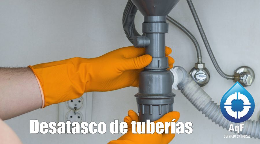 Desatascos de tuberías Alboraya