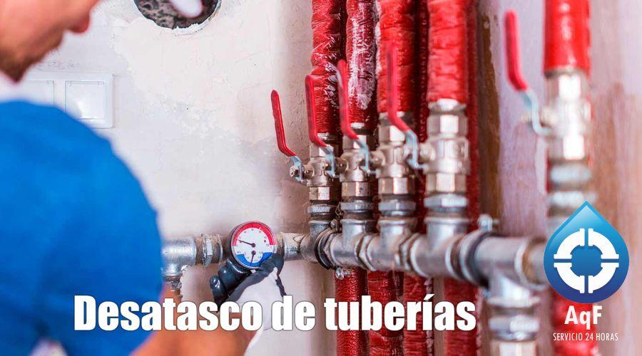 Desatascos de tuberías Valencia