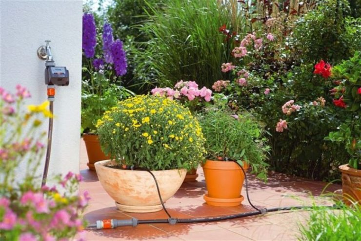 instalar grifo terraza
