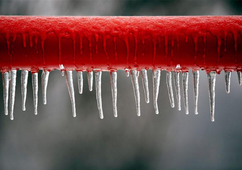 tuberías congeladas