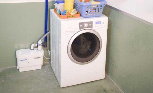 Cómo instalar una lavadora sin desagüe 1