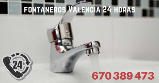 Fontaneros Valencia 24 horas baratos 1